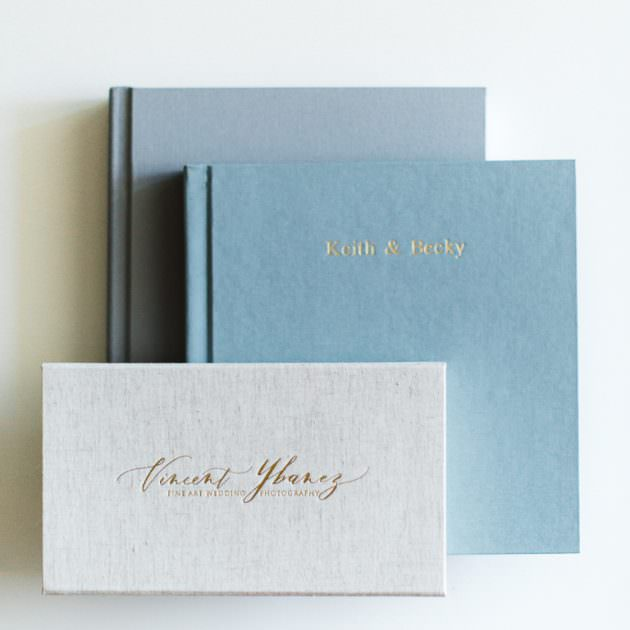 prints and wedding album for couples