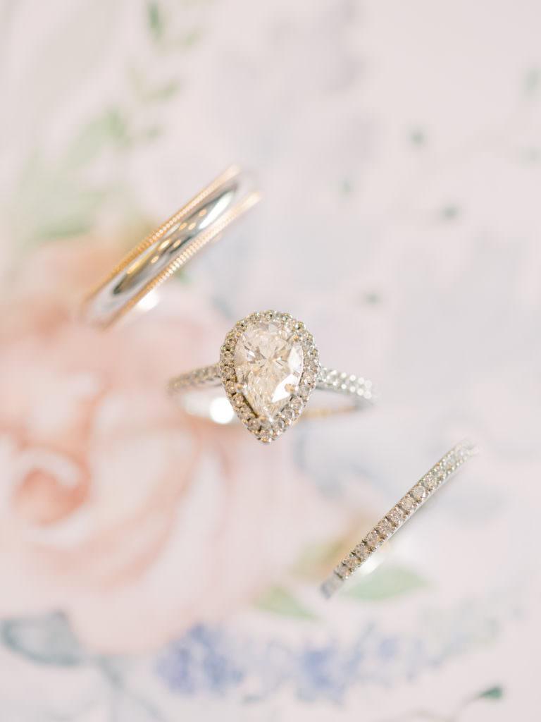 wedding ring shot edmonton photographer