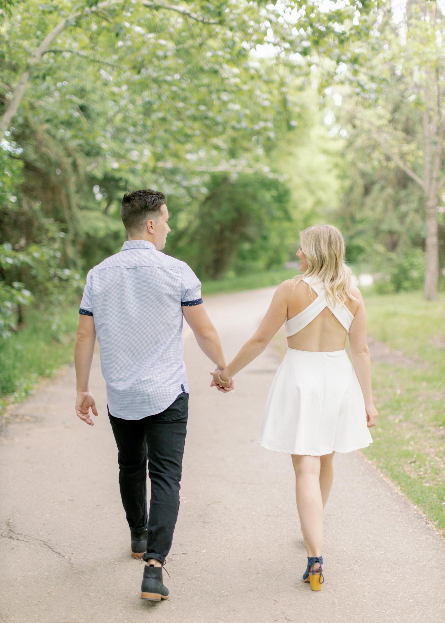 tanner and alyssa edmonton engagement photographer