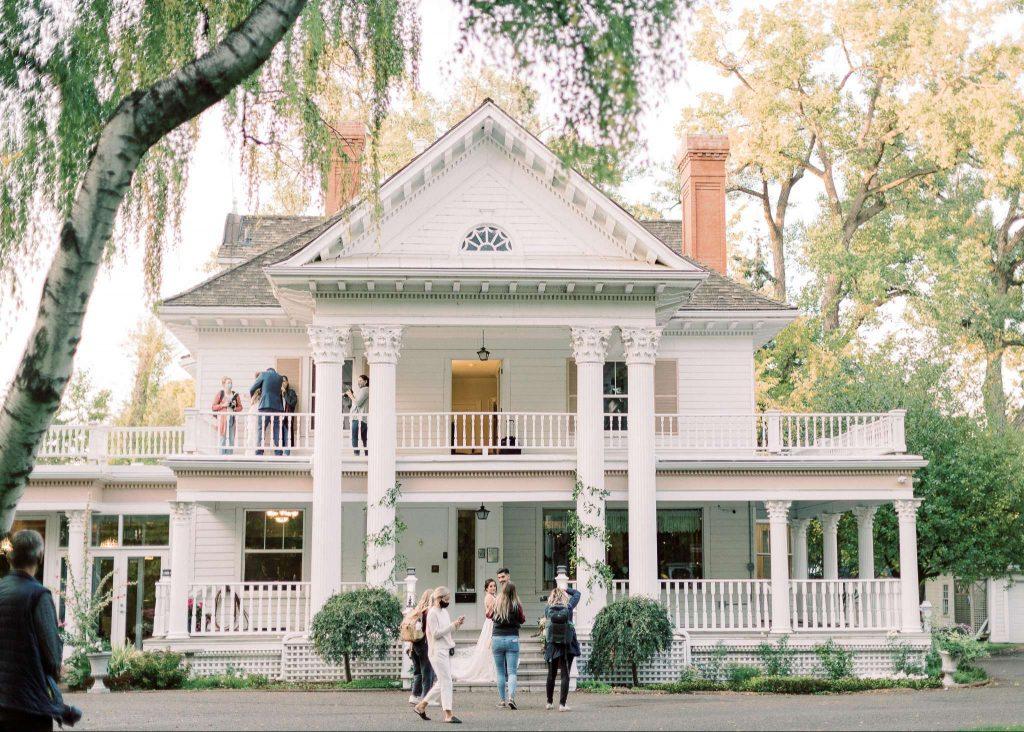 Outdoor Edmonton Wedding Venues Location